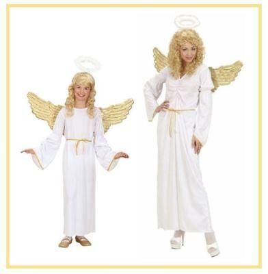 Engel Kinder Kostüm Mädchen 3tlg Dame Christkind Engelskostüm - Engel Kostüm Mädchen