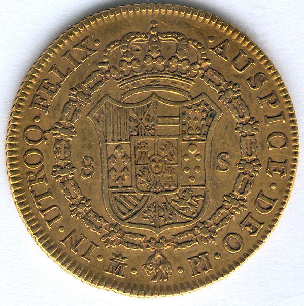 Carlos Iii 8 Shields 1772 Madrid P.j. @@ Very Bella @@ Doubloon @@