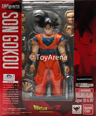 S.H. Figuarts Dragonball Z Normal Ver 2014 Son Goku Gokou Action Figure USA