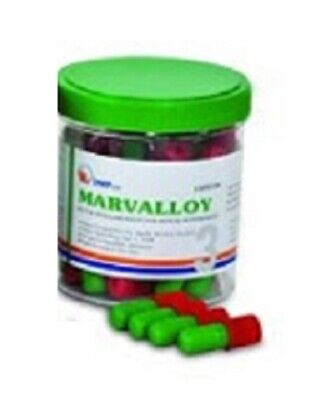 Dental Dmp Marvalloy Silver Amalgam Alloy 50 Capsules - 3 Spill - Red - 2021-05