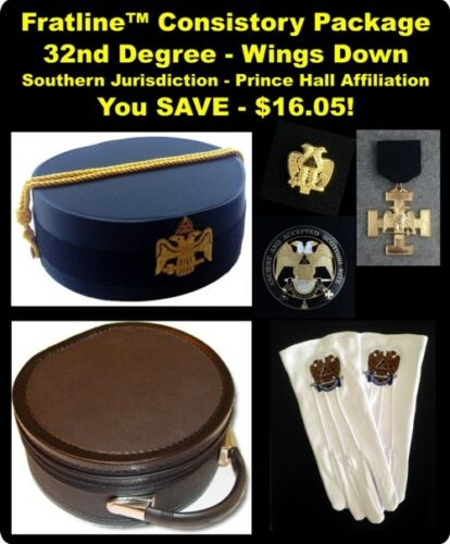 32nd Degree Consistory Package - Southern Jurisdiction (P.H.A.)