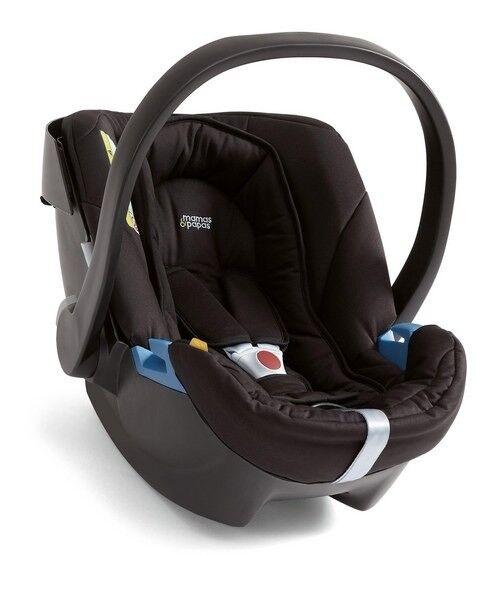 VGC Mamas And Papas CYBEX Aton ISOFIX Lightweight Car Seat Black
