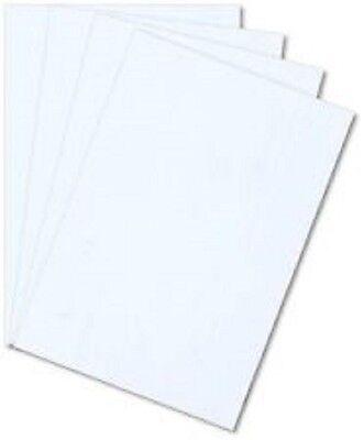 10 Pack White Styrene Polystyrene Plastic Sheet .010 Thick 6 X 6