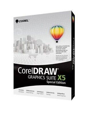 CorelDRAW Graphics Suite X5 Special Edition Vollversion Deutsch OVP