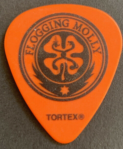FLOGGING MOLLY Dennis Casey Guitar Pick