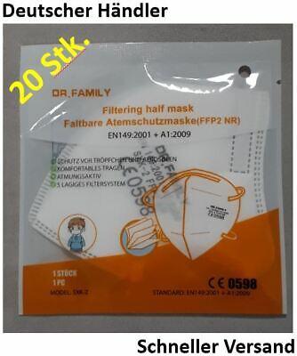 20x Hochwertige FFP2 Masken für Kinder ✅ CE-zertifiziert ✅schneller Versand