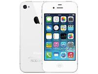 iPhone 4s 8gb. White