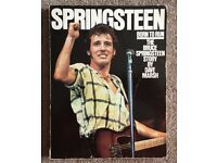 Bruce Springsteen Autographed Book