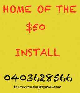 HOME OF THE $50 INSTALL Blacktown Blacktown Area Preview