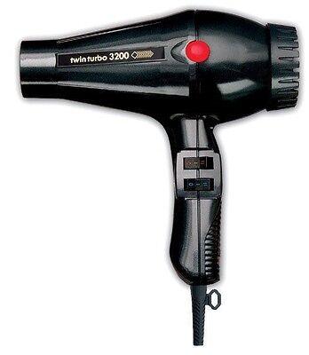 Turbo Power Twin Turbo 3200 Hair Dryer BLACK