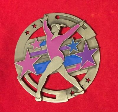 DANCE DANCING GYMNAST  FULL COLOR CHRISTMAS ORNAMENT PERSONALIZED FREE SHIP