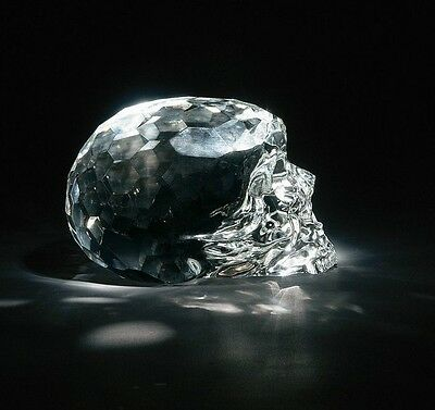 Life Size Crystal Skull Seletti Hamlet Dilemma Numbered Limit Edition # 2 / 041