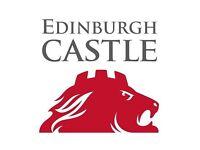 Seasonal Visitor Services Assistant, Edinburgh Castle