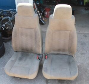 Newer Style Jeep TJ Seats Need Cleaning