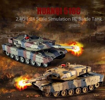Huanqi RC Infrared Battle Tank HQ 558 Set of 2,  w/ Infra-Red Laser