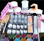 Nep nagels acryl nagel kit set gel startpakket nepnagels man