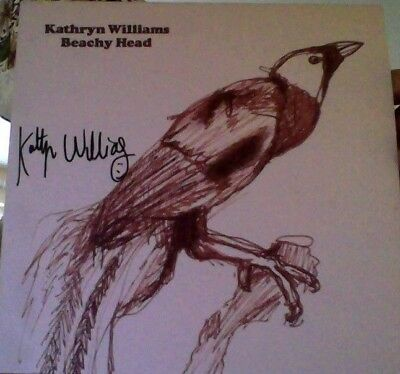 "Kathryn Williams beachy head vinyl 7"" autographed!"