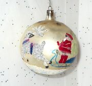 Vintage Reindeer Christmas Ornament