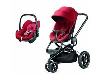 Quinny Moodd Travel System with Maxi Cosi Pebble Car seat