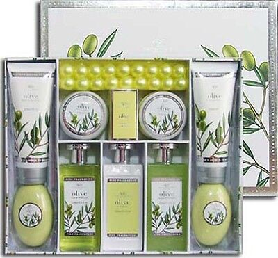 Asquith   Somerset Luxury Olive Soap   Lotion Skin Care Gift Set   Brand New Nib
