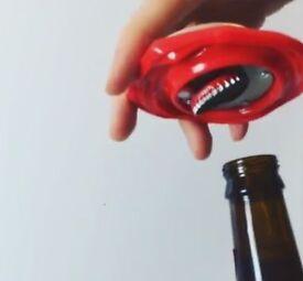 Bottle Opener Coca Cola Use as Fridge Magnet for Bottled Beer Coke