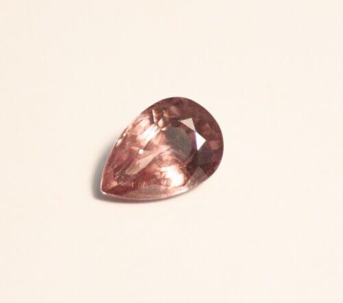 1.64ct Pink Malaya Garnet - Precision Pear Cut Gem