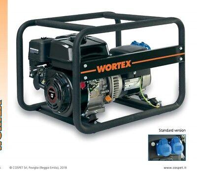 Power Generator Petrol Engine-Generator 4T 196cc 6.5hp 3 Kva Wortex for sale  Shipping to Nigeria