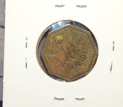 Capital Grill Octagon Coin Good for ten cents in trade (11334)