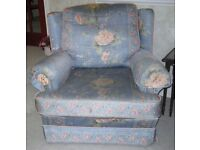 Settee & 2 Arm Chairs