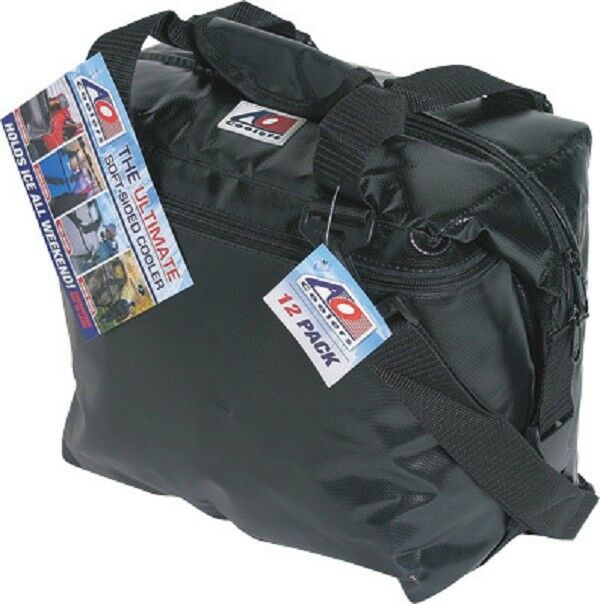NEW AO COOLERS AOFI36BK BLACK 36 PACK VINYL COOLER HIGH DENS