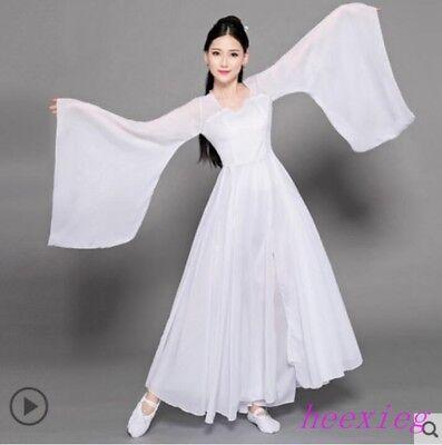 Retro Dance Costumes (Retro Women Classical Dance Costumes Fairy Dress Hanfu Ball Gown Robe Stage)