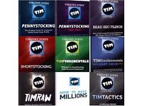 Tim Sykes - 10 Separate Trading DVD Courses & More, Learn How To Day Trade - Worth over £7852. 78