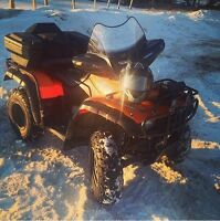 2001 honda 350 fourtracks