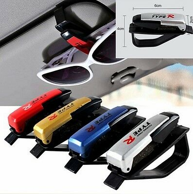 Universal Car Auto Sun Visor Clip Holder For Sunglasses Eyeglass Card Pen (Sunglass Holder For Car Visor)