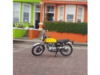 1975 Honda 400 four with MOT and Tax