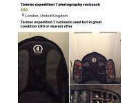 Tarmac expedition 7 camera rucksack