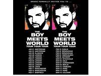 2 standing Drake tickets - Birmingham 23/03/2026