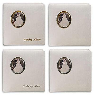 3 Pioneer Wf-5781 Oval Frame Wedding Albums 5x7&8x10 Foto...