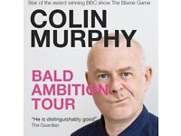 SOLD 2 x Colin Murphy tickets - 22nd Feb Coleraine Riverside Theatre