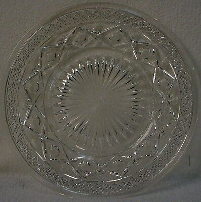 IMPERIAL crystal CAPE COD 160 pattern SALAD PLATE 8""