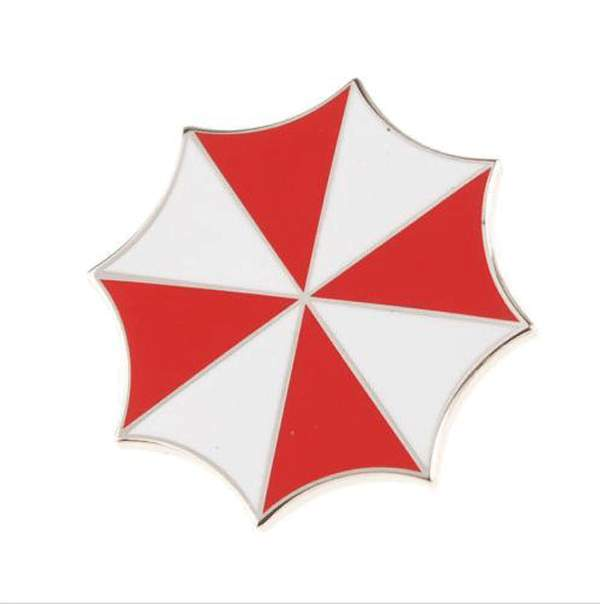 Resident Evil Umbrella Corporation Embroidered Logo Metal