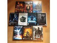 Job lot 10 DVDs thriller/horror/action (bundle #4)