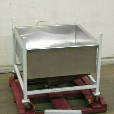 32 Cu. Ft. Stainless Steel Open Top Binhopper
