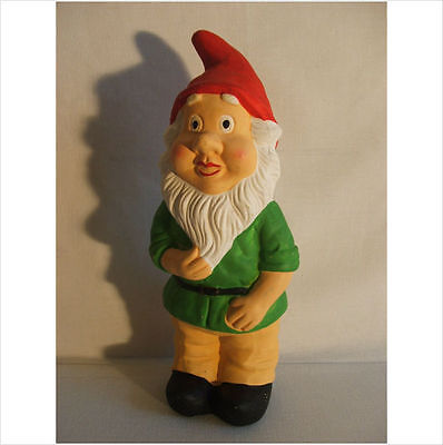 LATEX MOULD MOULDS MOLD.        11 INCHES GNOME WITH BEARD.
