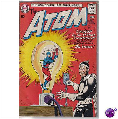 DC Comics Atom #8 September 1963 3rd Dr Light JLA VF