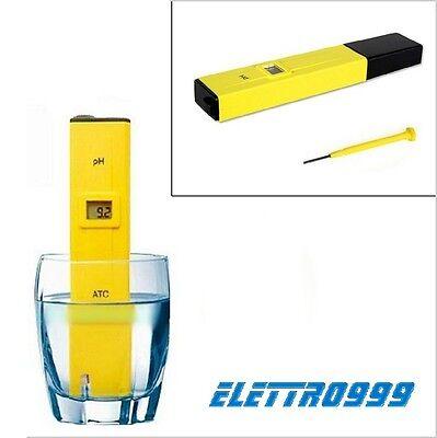 Test Elettronico PH acqua liquidi e acquario. Per acquario dolce e marino.