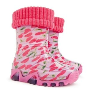 BABY BOYS & GIRLS WELLINGTON BOOTS /WELLIES/ RAINY BOOTS UK size 3-6 (EUR 20-23)