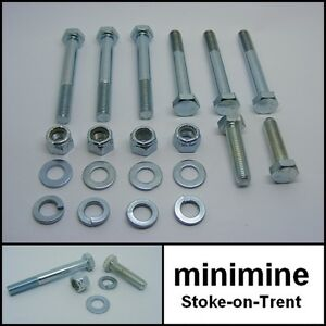 Classic Mini Late Rear Subframe Bolt Kit 1976  austin rover morris 998 1275 inj