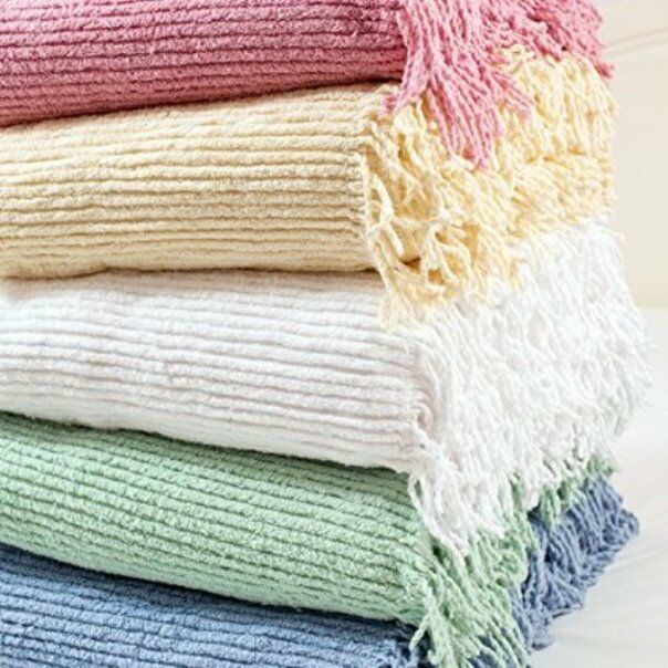 Candlewick Bedspread 100% Cotton Single,Double,King Clearanc