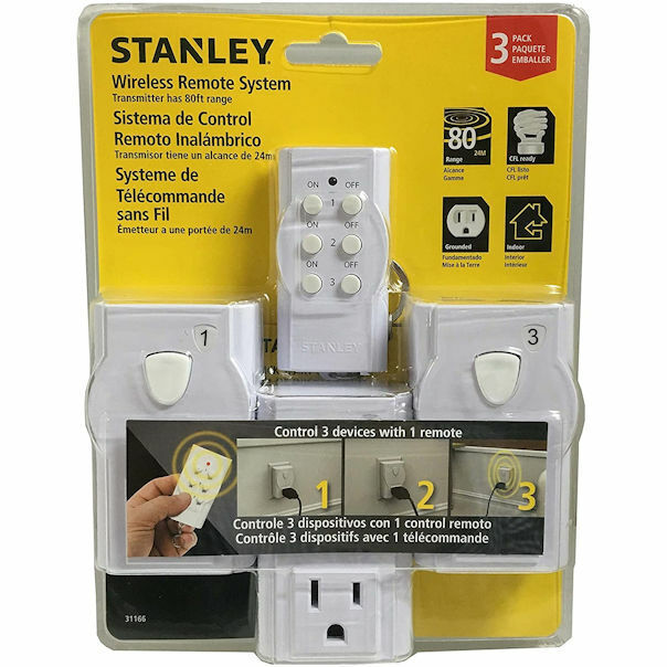 Stanley 31166 Wireless Remote Control System, 3 Each